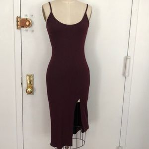 Urban Outfitters Silence + Noise ribbed dress